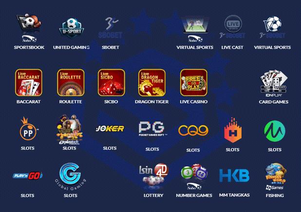 Berbagai macam permainan di situs judi online SuperBola