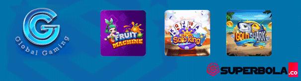 Judi mesin slot online Global Gaming GG Lobby