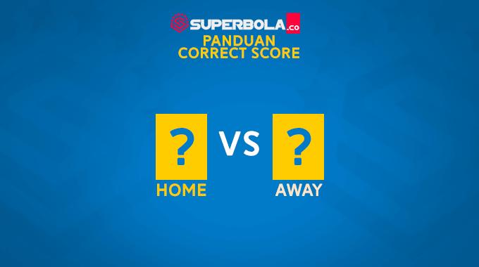 Panduan bola correct score SuperBola