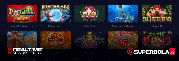 Daftar permainan game online RTG Slots