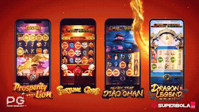45 Permainan e-games slot Pocket Gaming PG Softs di situs