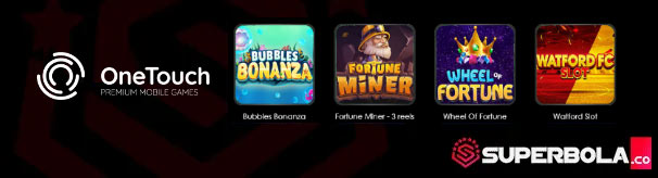Game one touch slot dari SuperBola