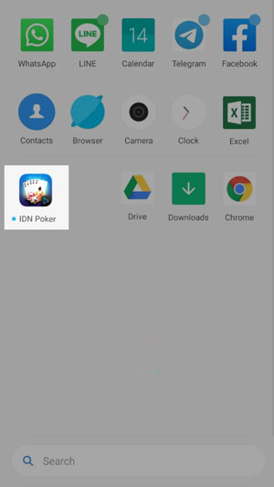 Icon aplikasi IDN poker