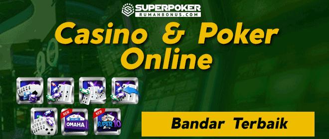 Main judi online casino poker di situs terpercaya SuperPoker