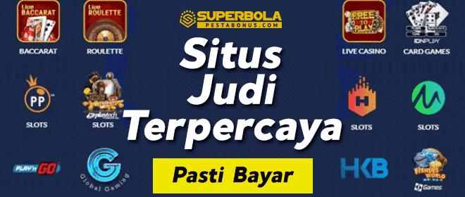 SuperBola salah satu nama situs judi online terpercaya di Indonesia