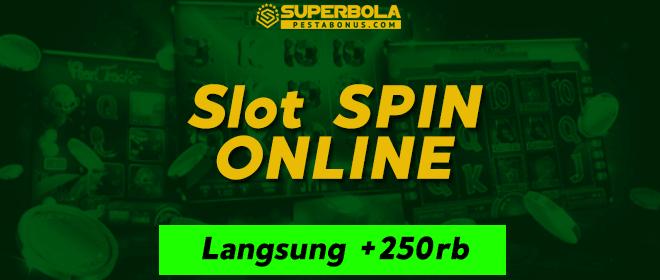 Permainan spin bonus 50% langsung dari situs terpercaya SuperBola