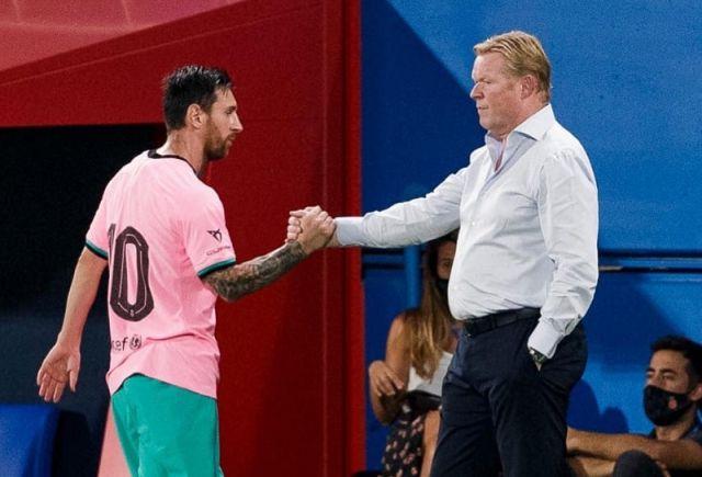 Tanpa Messi Kerjasama Pemain Barcelona Lebih Baik Tutur Koeman Berita Liga Spanyol